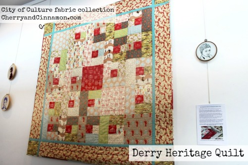 Derry Londonderry City of Culture Heritage Quilt