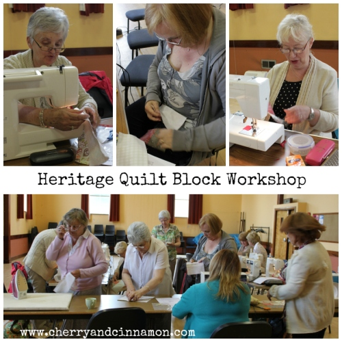 Derry Heritage Quilt block workshop