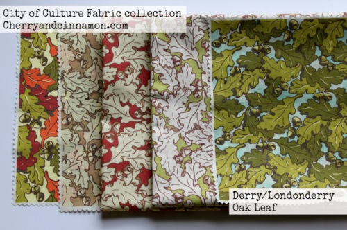 Derry Oakleaf fabric