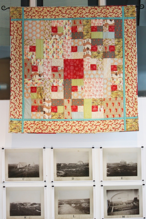 Heritage Quilt at Verbal Arts Centre