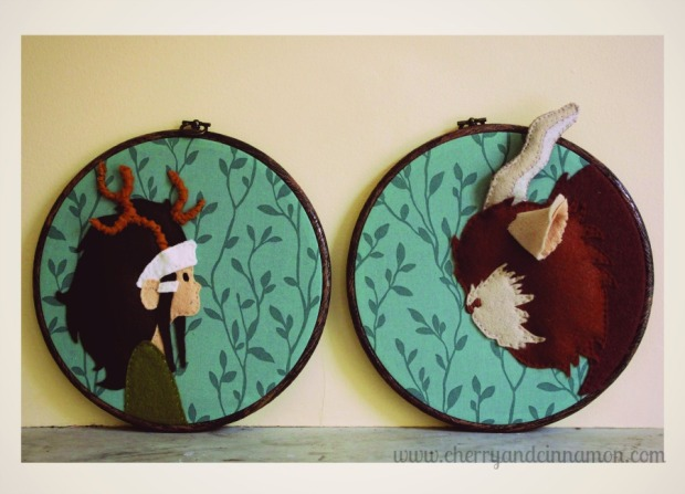 beast and the brave-Bronte Hoop art for Gotye