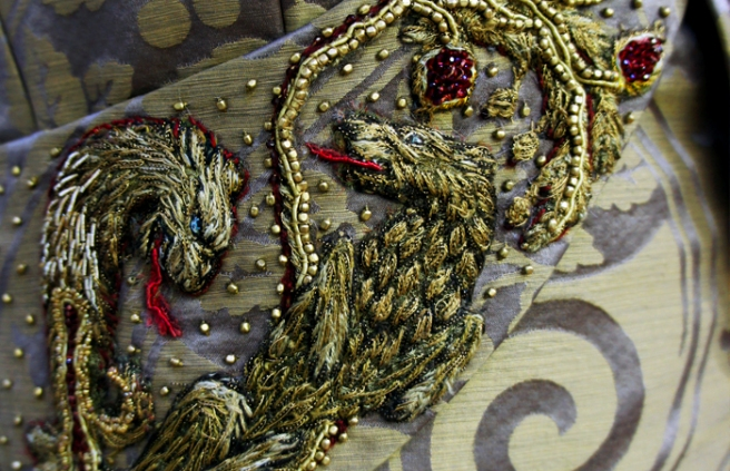 Game of Thrones Embroidery - Michelle Carragher (C) MCE-HBO 2013