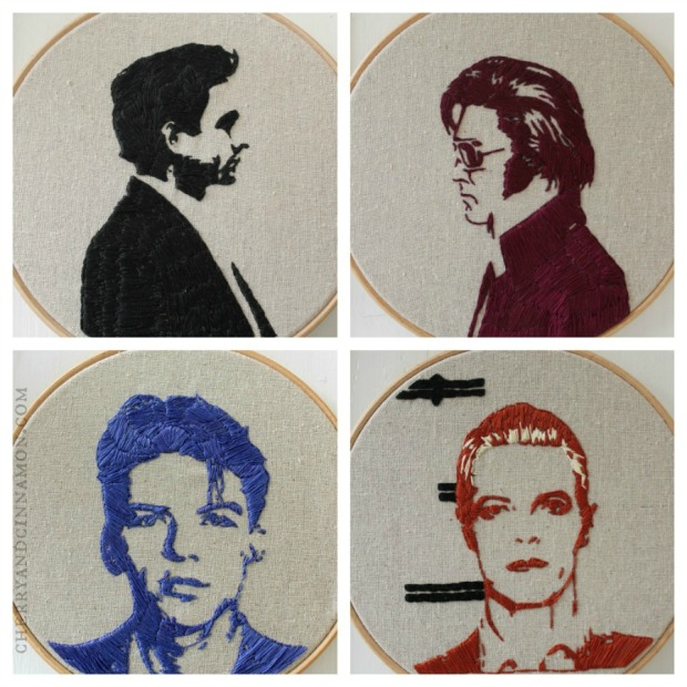 Rebel Yell Mug shot embroidery by Bridgeen Gillespie