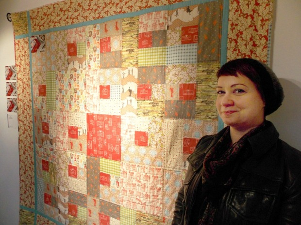 City of Culture Quilt at Verbal Arts centre