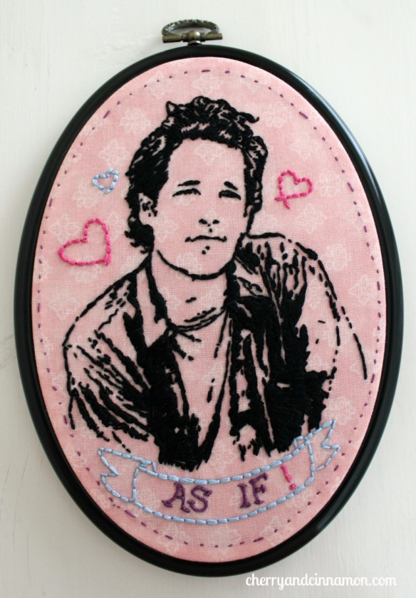 Paul Rudd- Clueless portrait- 90s nostalgia