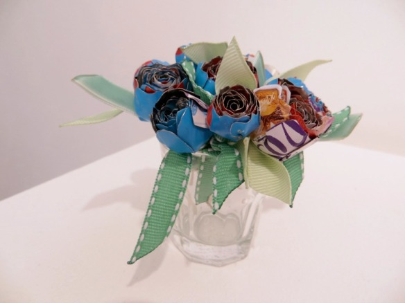 Sarah Fleming- Recycled Roses Bouquet