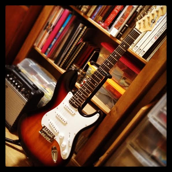 My guitar & shelfie