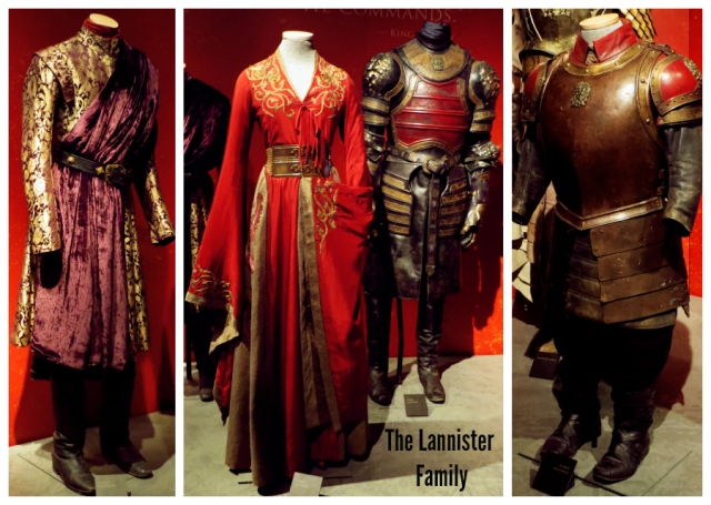 The Lannister Family -costumes- Game of Thrones