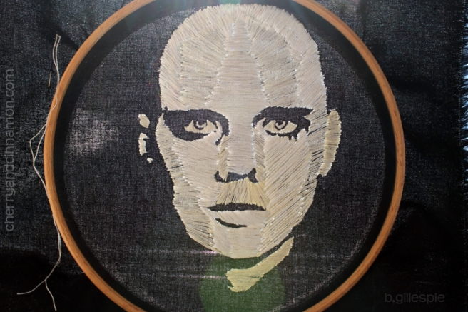 Billy Corgan- portrait complete in hoop