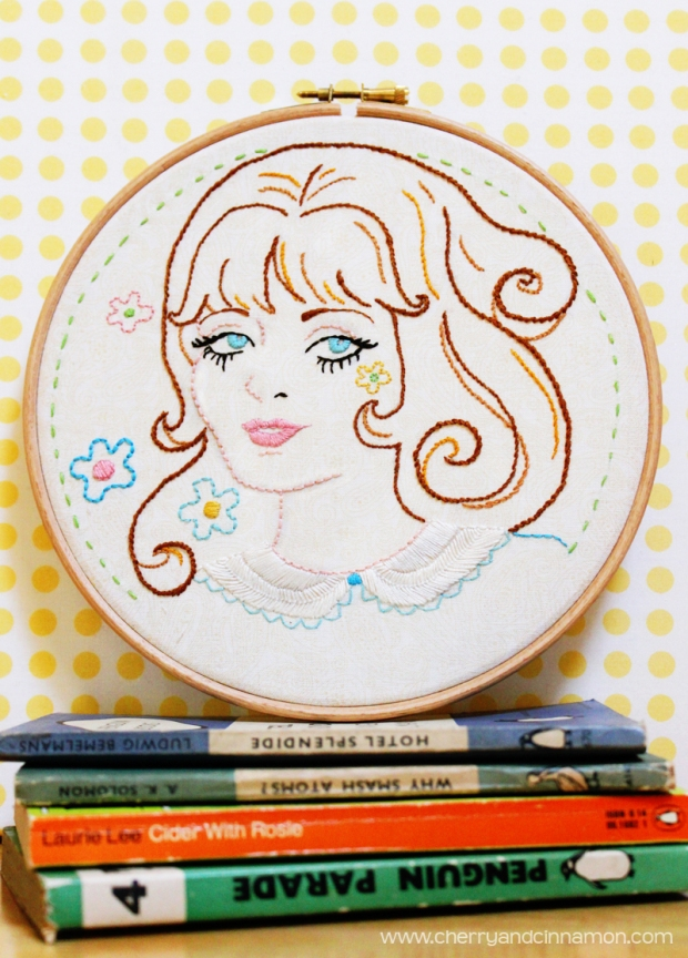 60s-Summer of Love embroidery pattern