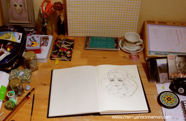 My drawing table