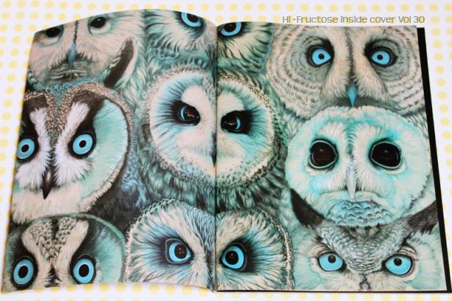 Owls-Tiffany Bozic- Hi Fructose 30