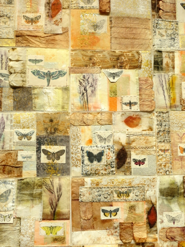 Atelier M+M Butterfly-Paper Quilt Detail FoQ 2014