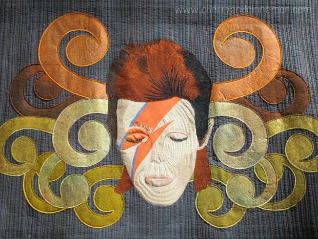 Bowie- Ziggy Quilt FoQ 2014 by Ann Beech