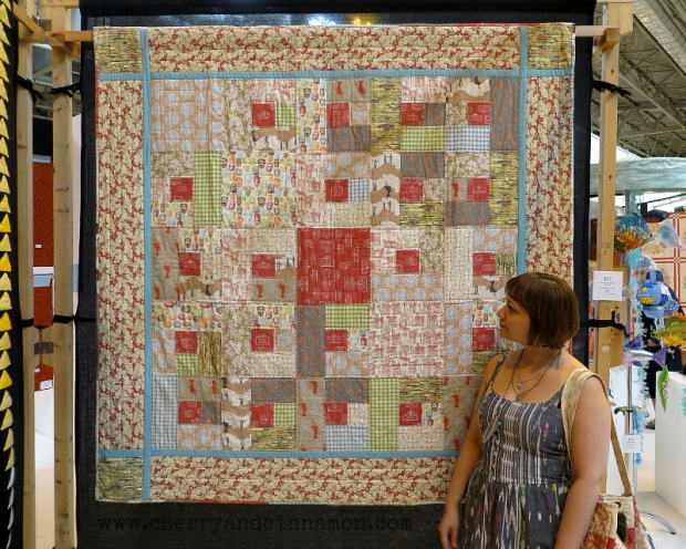 Cherry & Cinnamon at the Festival of Quilts 2014