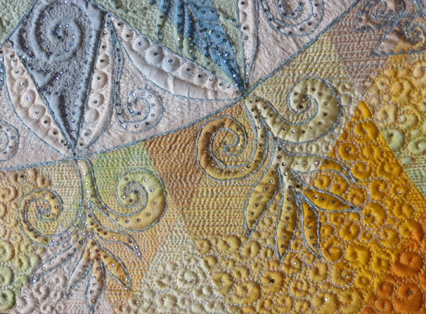 Detail Fire and Ice Quilt-FoQ 2014