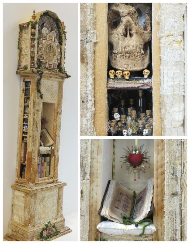 Memento Mori- Textile clock- FoQ 2014