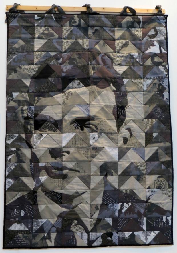 Portrait Quilt by Mark & Bridget Mann FoQ 2014