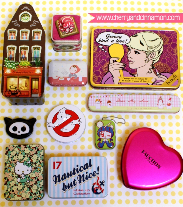 Pretty Tin collection